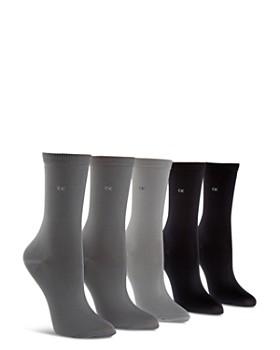 Calvin Klein - Microfiber Crew Socks 73c2d5b0c