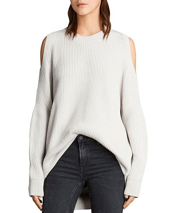 ALLSAINTS - Lizzie Cold-Shoulder Sweater
