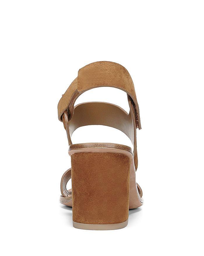 e4920be88b7 Via Spiga Women s Kamille Suede Block Heel Ankle Strap Sandals ...