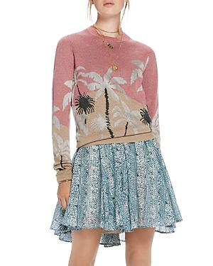 Scotch & Soda Palm Tree Jacquard Sweater