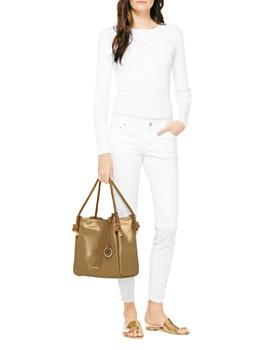 MICHAEL Michael Kors - Isla Canvas Bucket Bag