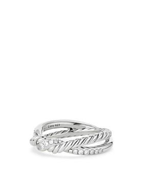 David Yurman - Continuance Twist Ring with Diamonds