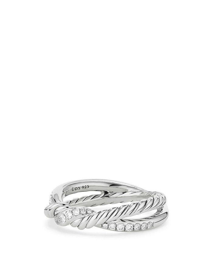 David Yurman - Continuance Twist Ring with Diamonds