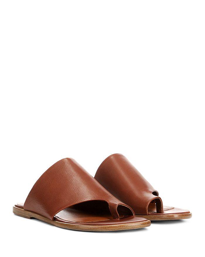 204371e726d1 Vince - Women s Edris Leather Slide Sandals