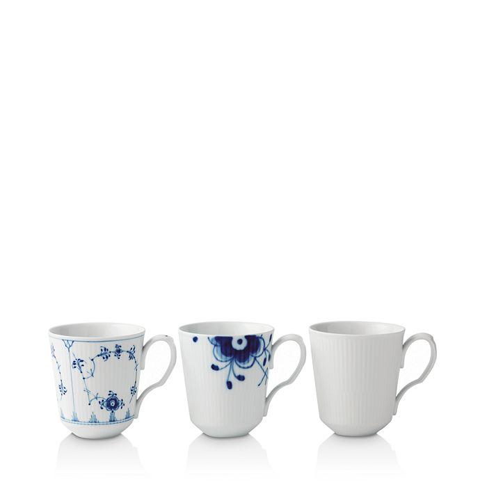 Royal Copenhagen - History Mug, Set of 3