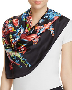 Echo Adelaide Floral Silk Square Scarf - Bloomingdale's_0