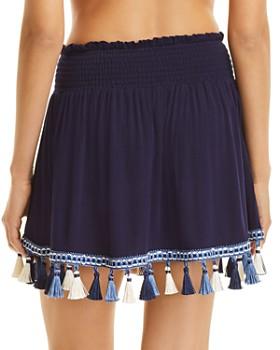 Surf Gypsy - Tassel Mini Skirt Swim Cover-Up