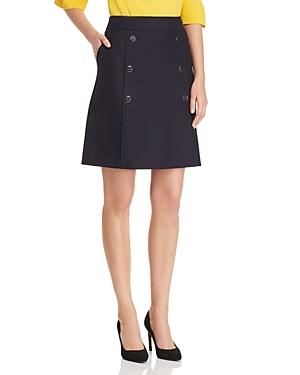Boss Valareama A-Line Button Skirt