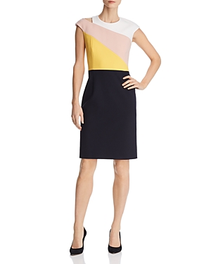 Boss Danouk 1 Layered-Look Sheath Dress