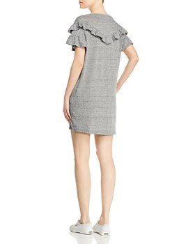 PAIGE - Adalie Ruffled Sweatshirt Dress