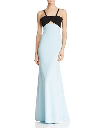 Jill Jill Stuart - Color-Block Mermaid Gown