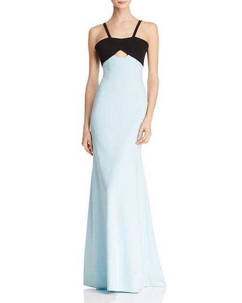 Jill Jill Stuart - Color-Block Mermaid Gown
