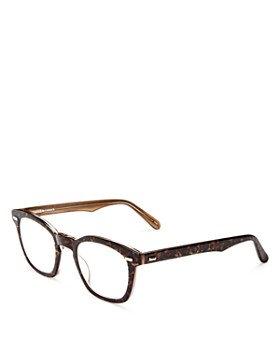 Corinne Mccormack - Leopard Print Square Keyhole Readers, 46mm