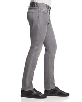 BOSS - Delaware Slim Straight Fit Jeans in Gray