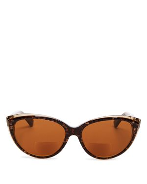 CORINNE MCCORMACK CORRINE MCCORMACK ANITA 59MM READING SUNGLASSES - DARK LEOPARD