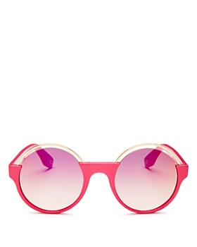 MARC JACOBS - Women's Mirrored Round Sunglasses, 51mm