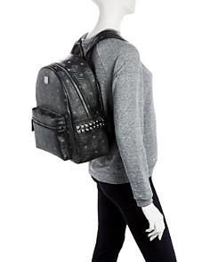 MCM - Visetos Small/Medium Stark Studded Backpack