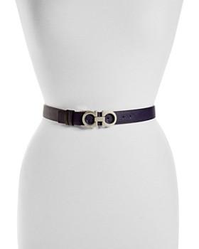 Salvatore Ferragamo - Reversible Leather Belt
