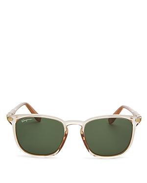 13d49282088 Salvatore Ferragamo Men S Thin Square Plastic Sunglasses In Champagne