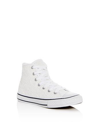 d395c4d9f9455b Converse - Girls  Chuck Taylor All Star Crochet High Top Sneakers -  Toddler