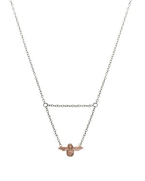 Olivia Burton 3D Bee Necklace, 19.7