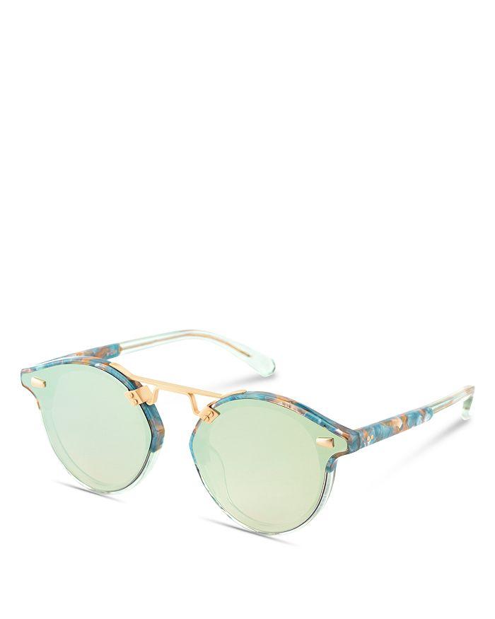 f8a9e89f61 Krewe - Women s STL II Nylon 24K Mirrored Round Sunglasses