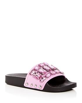 Botkier - Women's Freda Embellished Slide Sandals