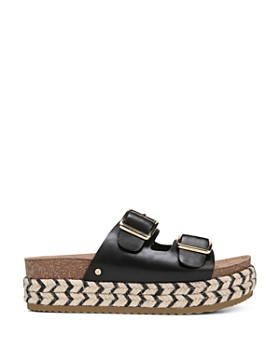 Sam Edelman - Women's Oakley Leather Platform Sandals