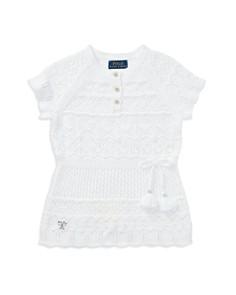 Polo Ralph Lauren Girls' Crochet Tunic - Little Kid - Bloomingdale's_0
