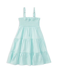 Polo Ralph Lauren Girls' Tiered Smocked Dress - Little Kid - Bloomingdale's_0