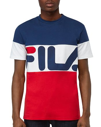 FILA - Vialli Logo Crewneck Tee