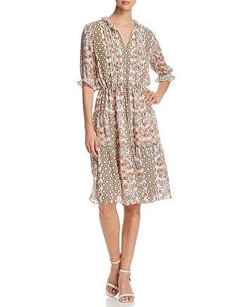 fd264acdbfd78b Tory Burch - Serena Printed Silk Dress