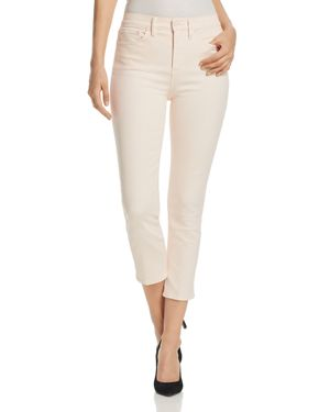 Tory Burch Mara Cropped Skinny Jeans in Ballet Pink 2897651