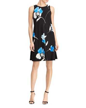 Lauren Ralph Lauren Petites Petites Floral Jersey Dress