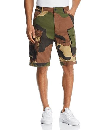 G-STAR RAW - Rovic Camouflage Cargo Shorts - 100% Exclusive