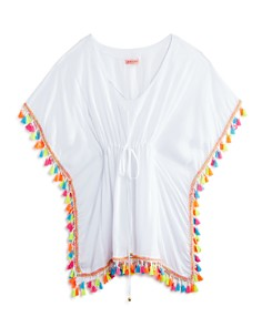 PilyQ - Girls' Tassel Poncho - Little Kid, Big Kid