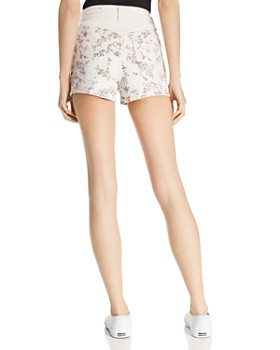 rag & bone/JEAN - Ellie Floral Print Denim Shorts in Micro Floral