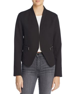 RUCHED SLEEVE BLAZER - 100% EXCLUSIVE