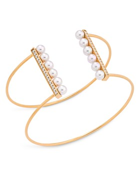 Majorica - Simulated Pearl Cuff Bracelet