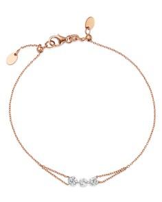 AeroDiamonds - 18K Rose Gold Trio Diamond Bracelet