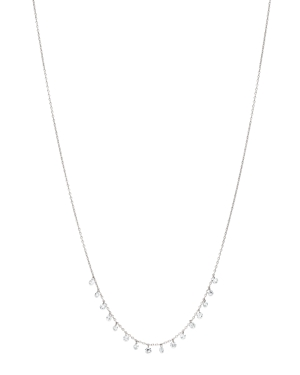 AeroDiamonds 18K White Gold Sweet Sixteen Diamond Necklace, 18