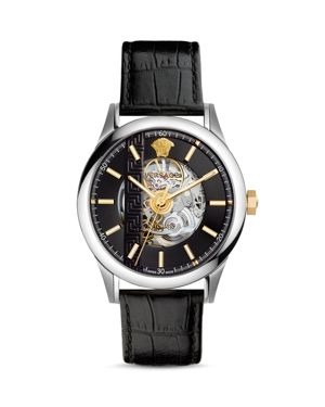 Versace Aiakos Limited Edition Automatic Skeleton Watch, 44mm
