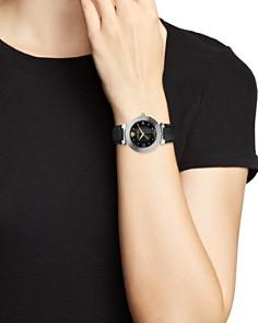 Versace - Daphnis Greca Engraved Watch, 35mm