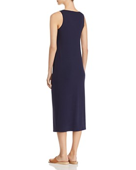 Eileen Fisher - Scoop Neck Midi Tank Dress