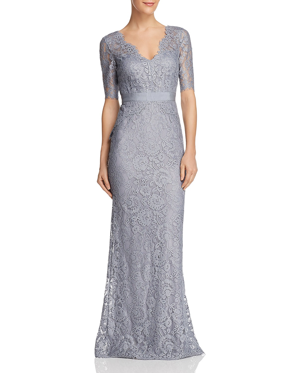 Adrianna Papell Floral Lace Gown | Bloomingdale\'s