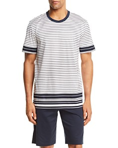 Hanro Oliver Short Sleeve Pajama Shirt and Shorts - Bloomingdale's_0