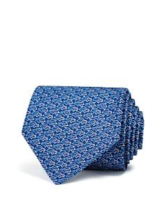 Salvatore Ferragamo Paper Clip Turtle Classic Tie - Bloomingdale's_0