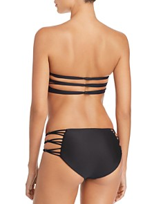 MIKOH - Barcelona Full Coverage String Side Bikini Bottom