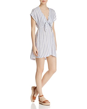 Rails - Charlotte Tie Detail Striped Dress