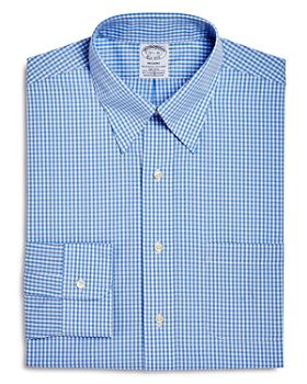 Brooks Brothers - Gingham Regent Fit Dress Shirt